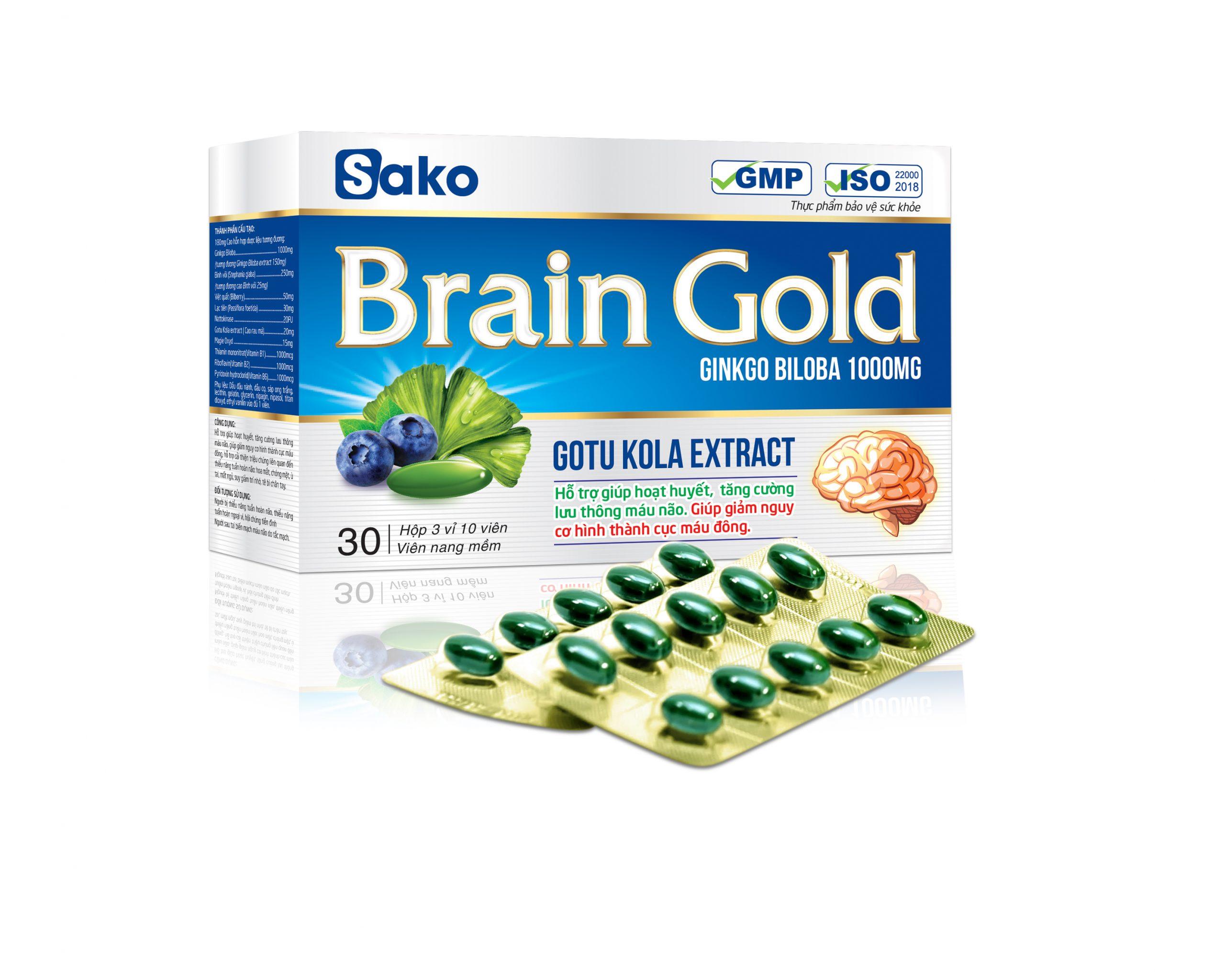 3D Brain gold vi scaled