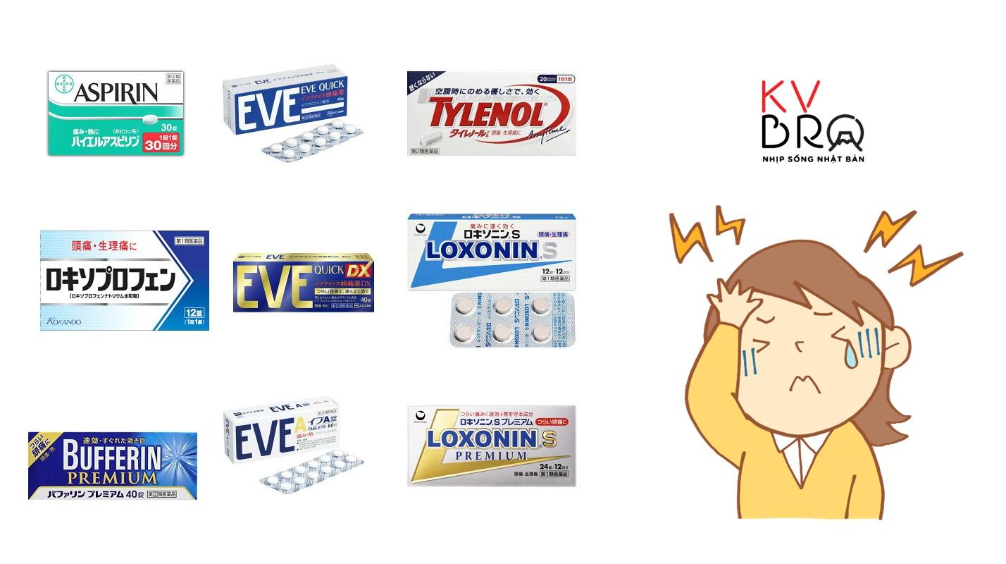 Tổng hợp các loại thuốc giảm đau chống viêm phổ biến (2)